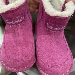 Timberland baby girl winter boots size 3